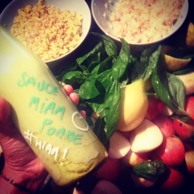 sauce veggie pomme