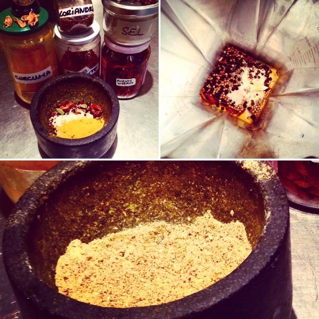 recette sel épice