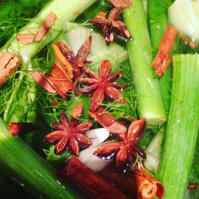 bouillon facile veggie