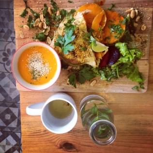 kitchen garden resto vegan