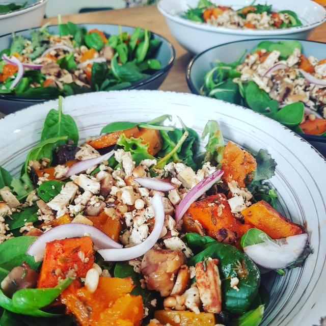 salade vegetarienne vegan