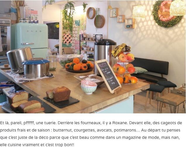 Cuisinière Chez Simone