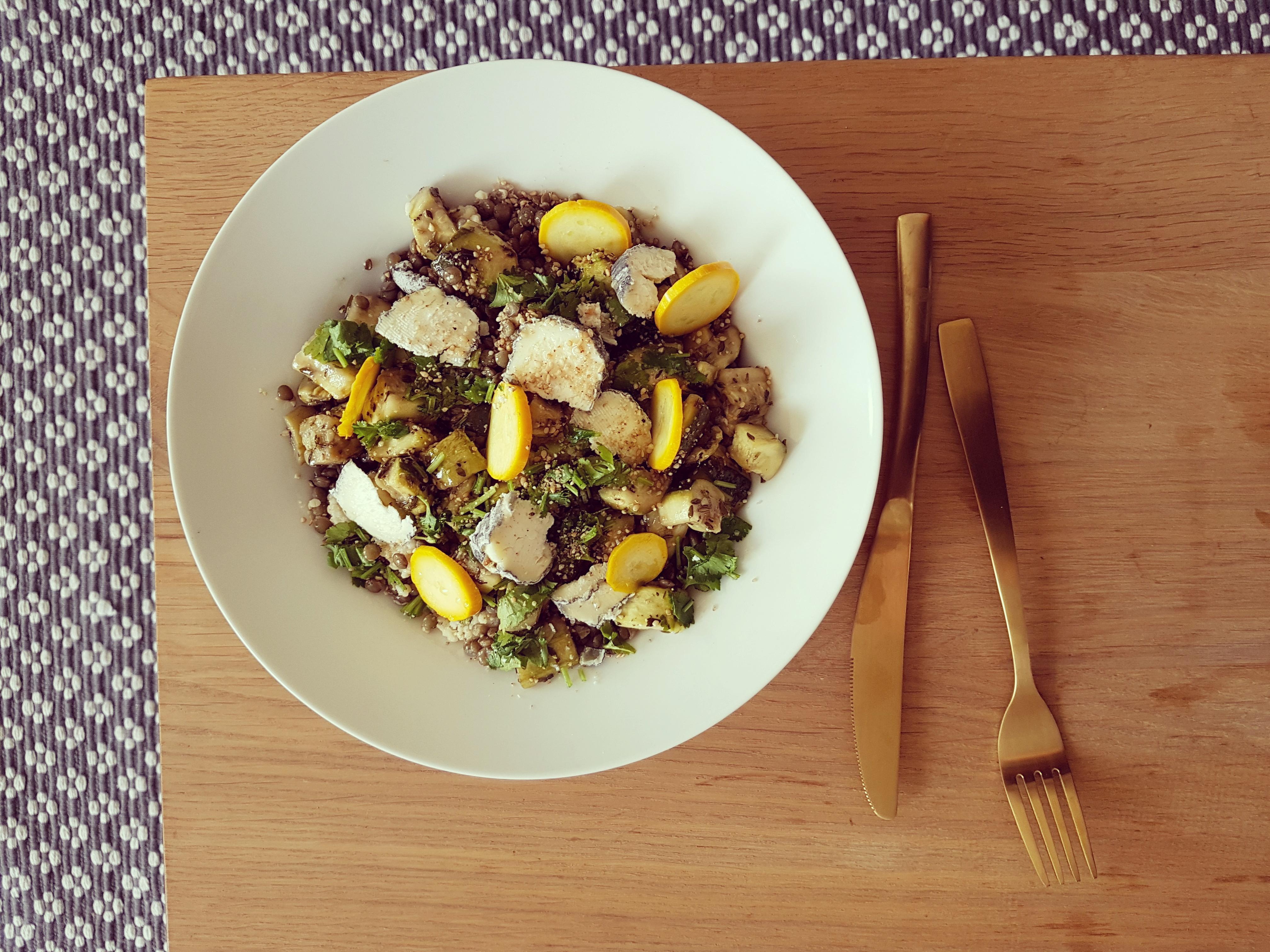 recette de salade végétarienne