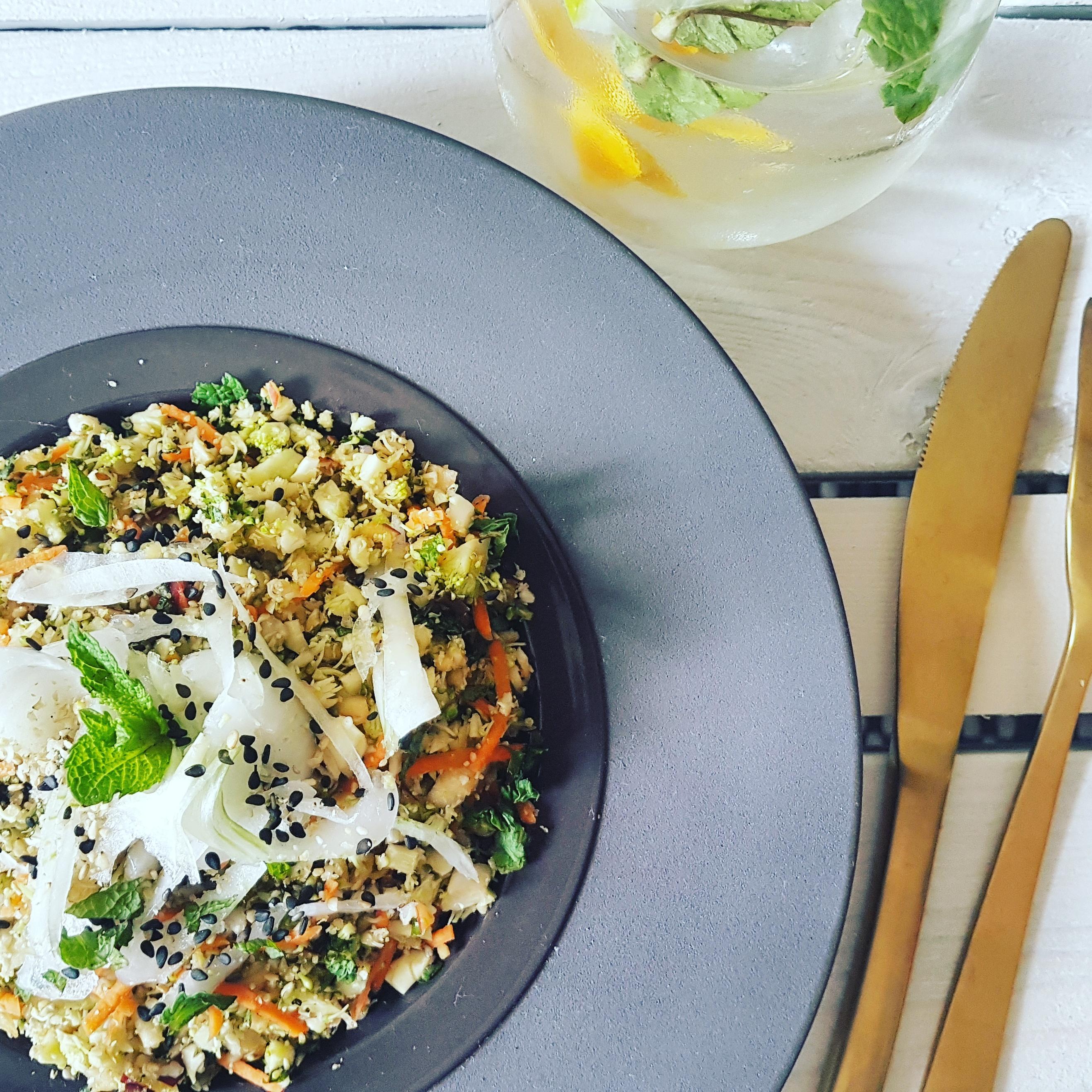 recette végétarienne taboulé quinoa
