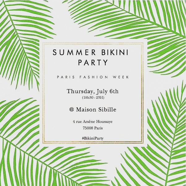 bikini summer party eat me veggie