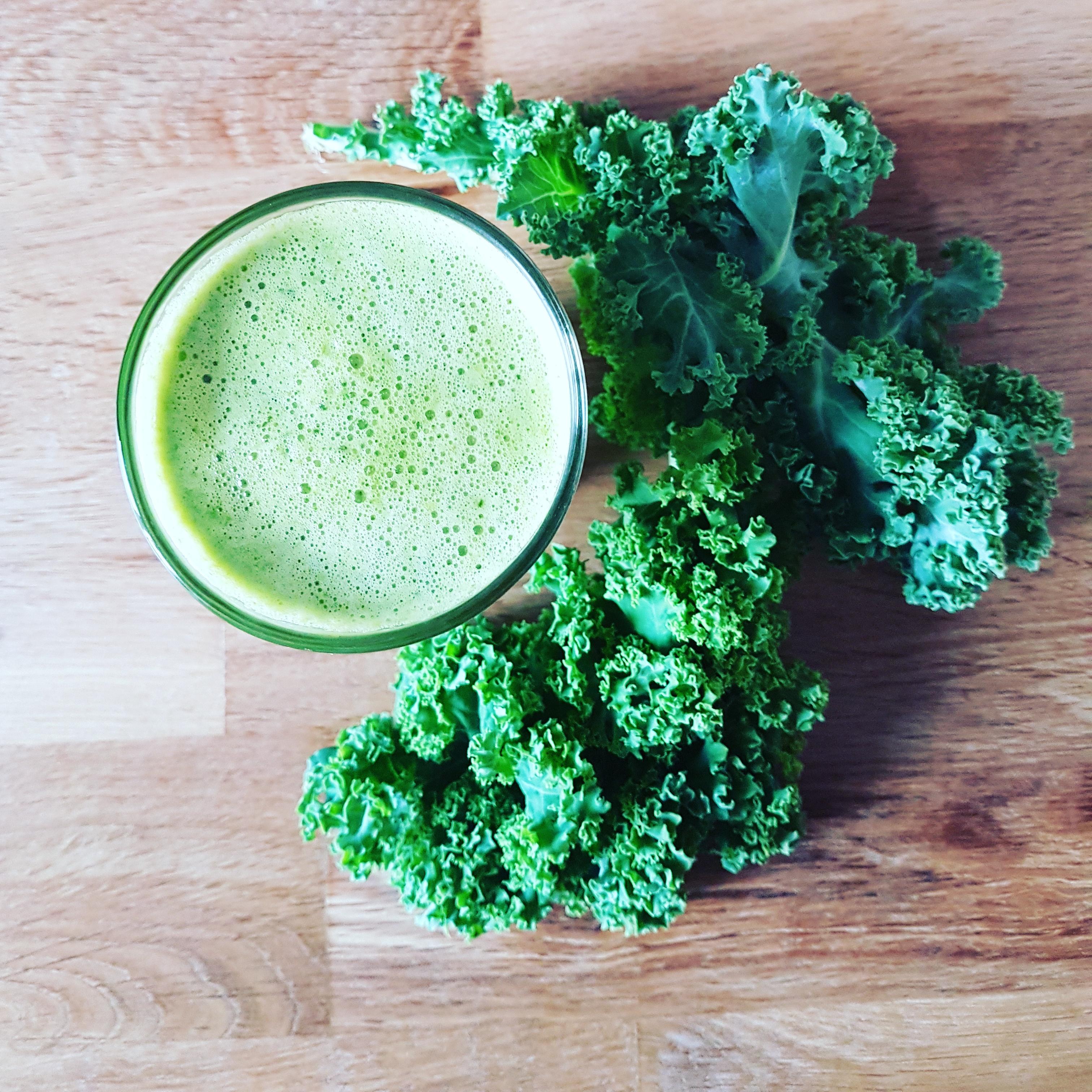 recette de jus vert