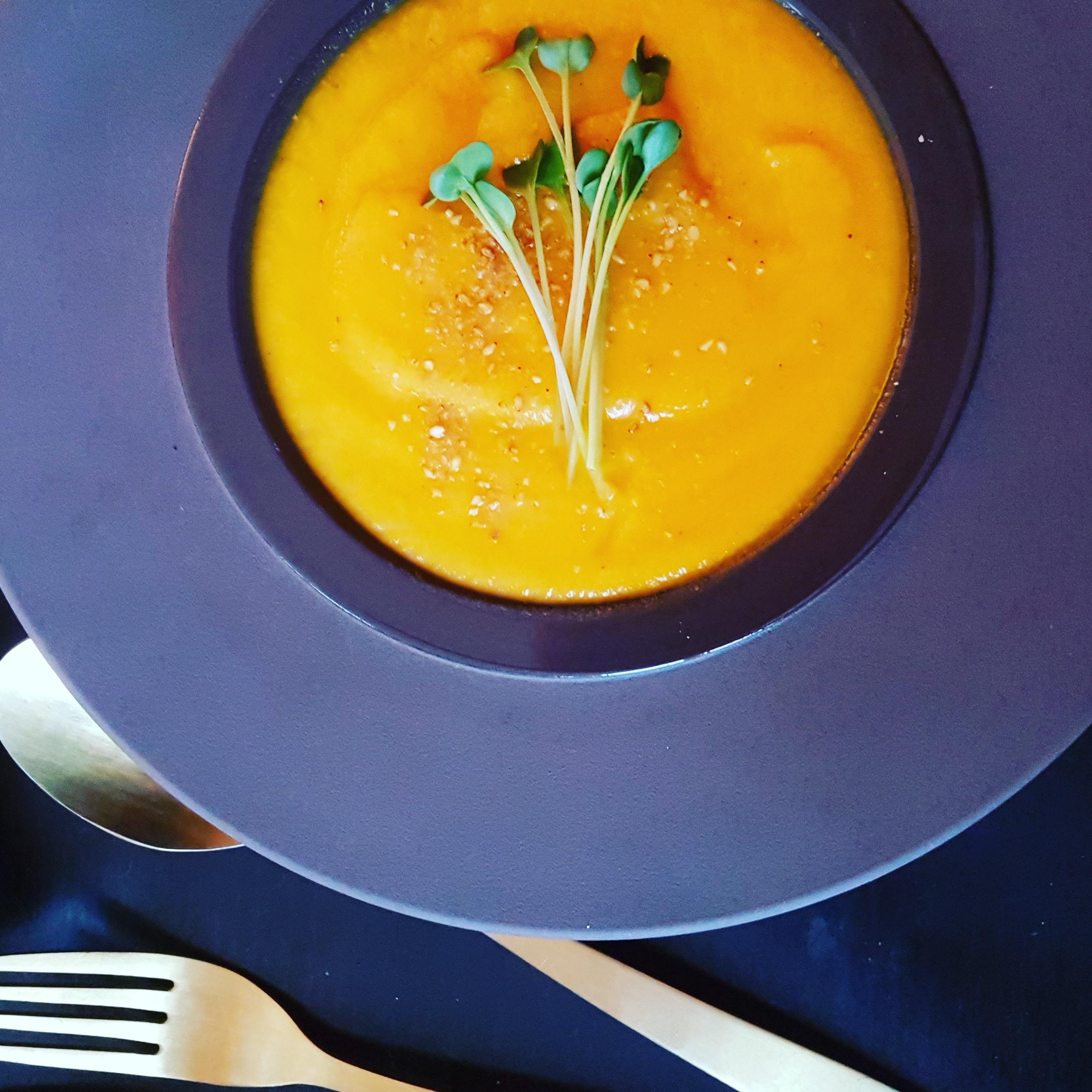 recette soupe potimarron