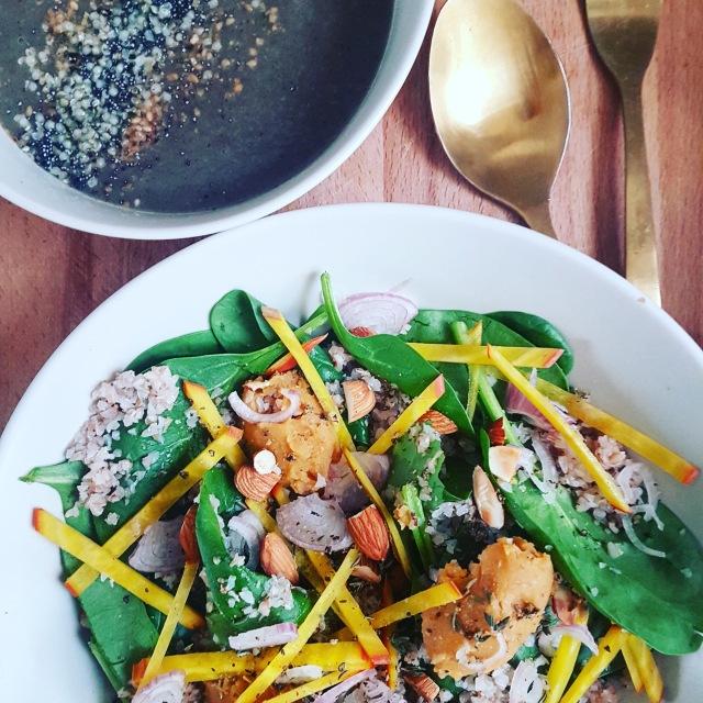 recette salade sans gluten