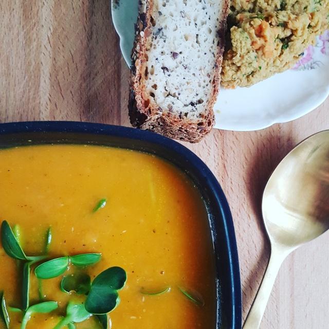 recette de soupe vegan