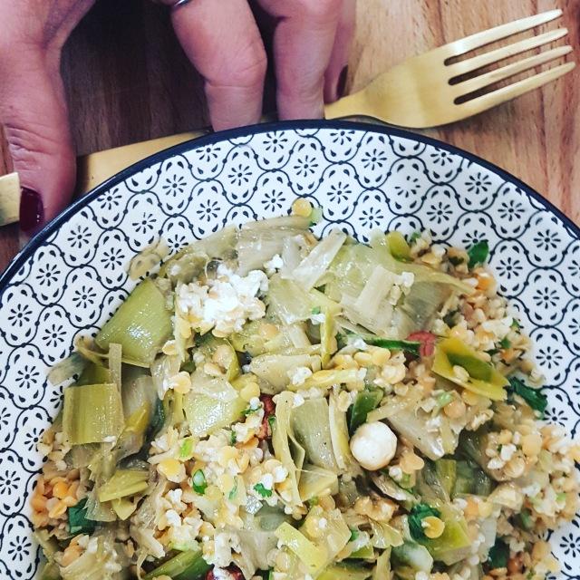 recette salade poireaux