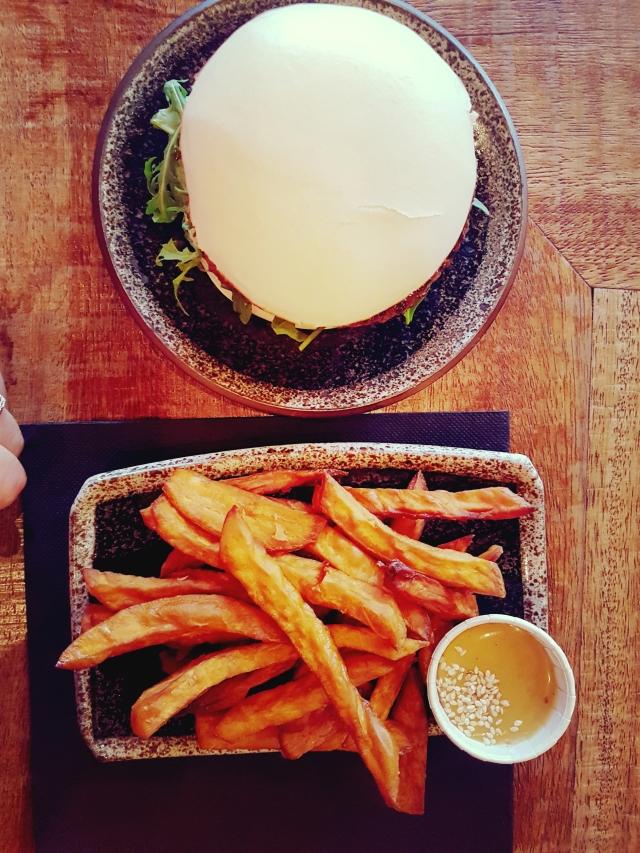 resto burger veggie