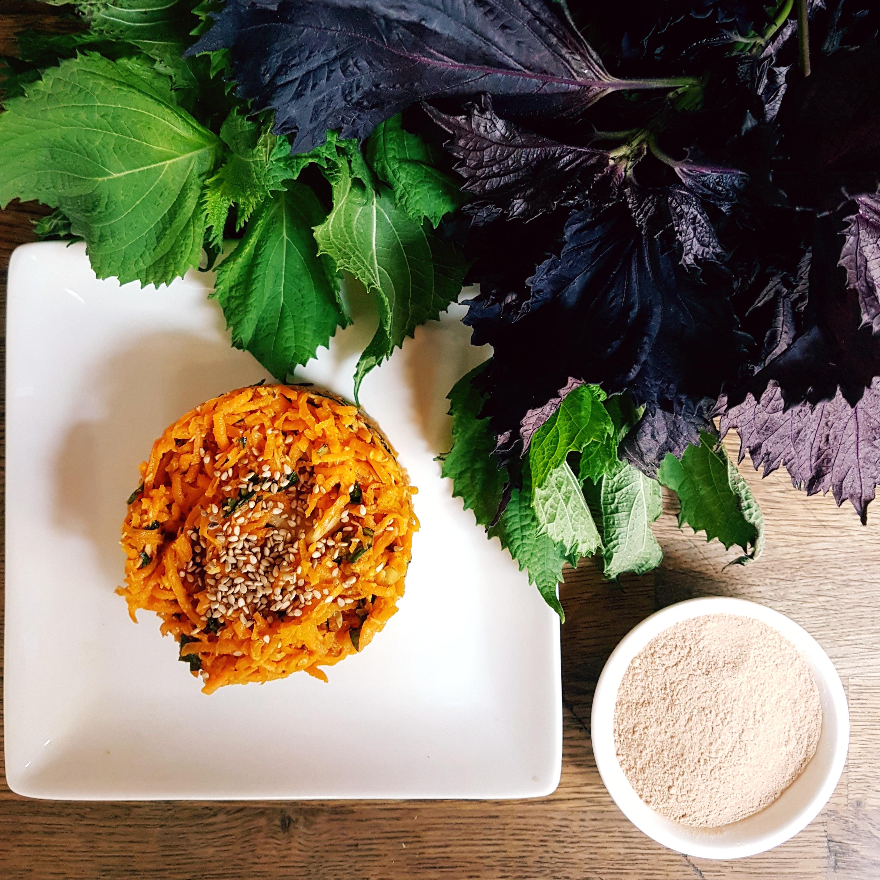 recette vegan carottes lucuma