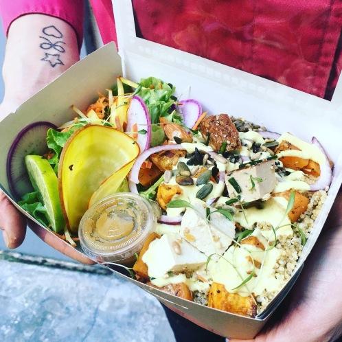 bowl vegan comptoir veggie paris